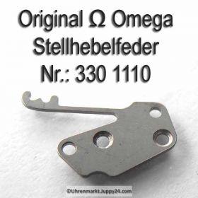 Omega Stellhebelfeder Omega 330-1110 Omega Winkelhebelfeder Cal. 330 bis 372 410 420 470 471 490 491 500 501 502 503 504 505 510 511 520
