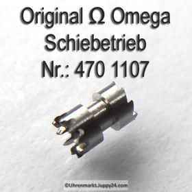 Omega Schiebetrieb Omega 470-1107 Cal. 470 471 490 491 500 501 502 503 504 505 510 511 520