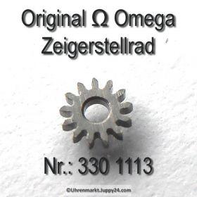 Omega Zeigerstellrad Omega 330-1113 Cal.  330 bis 372 410 420 470 471 490 491 500 501 502 503 504 505 510 511 520