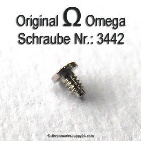 Omega Schraube 3442 Part Nr. Omega 3442
