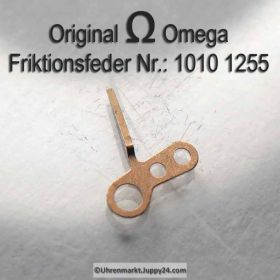 Omega 1010-1255 Friktionsfeder für Zentrumsekundentrieb Omega 1010 1255 Cal. 1010 1011 1012 1020 1021 1022 1030 1035