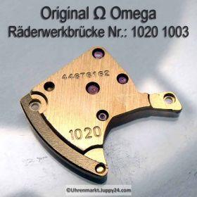 Omega Räderwerkbrücke Omega 1020-1003 Cal. 1020 SIGNIERT