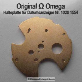Omega 1020-1554 Halteplatte für Datumanzeiger, Omega 1020 1554 Cal. 1020 1021 1022
