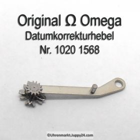 Omega 1020-1568 Korrekturhebel für Datum Schnellverstellung, Omega 1020 1568 Cal. 1020 1021 1022