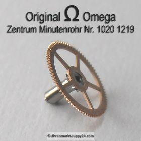 Omega Zentrum Minutenrohr 1020-1219 Omega 1020 1219 H1 2,84 montiert Cal. 1020 1021 1022