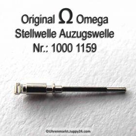 Omega Stellwelle männlich Omega 1000-1159 auch Omega 1000-1160 Cal. 1000 1001 1002