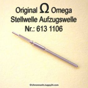 Omega Aufzugswelle Stellwelle Omega 613-1106 Cal. 613