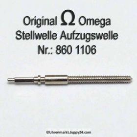 Omega Aufzugswelle Stellwelle Omega 860-1106 Cal. 860 861 865 910 911 920 930