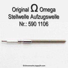 Omega Aufzugswelle Stellwelle Omega 590-1106 Cal. 590 591
