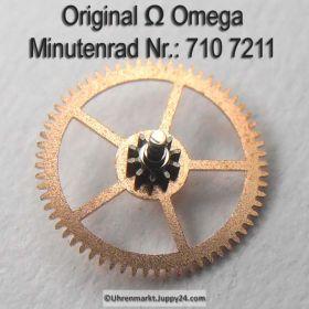 Omega 710-7211 Minutenrad Omega 710 7211 Cal. 710 711 712