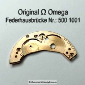 Omega Federhausbrücke Part Nr. Omega 500-1001 Cal. 490 491 500 501 502 503 504 505