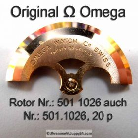 Omega Rotor  Omega 501-1026 20 jewels Cal. 501 503