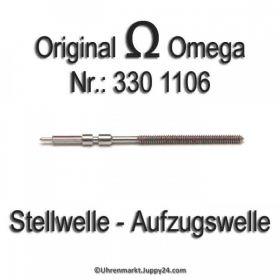 Omega Aufzugswelle Stellwelle Omega 330 1106 Cal. 330 331 332 333