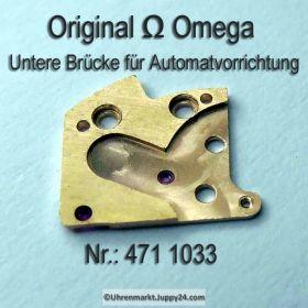 Omega Untere Brücke für Automatvorrichtung Omega 471-1033 Cal. 471 501 503