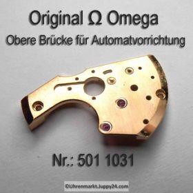 Omega 501 1031 Omega obere Brücke für Automatvorrichtung Cal.  501