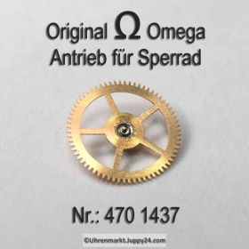 Omega 470-1437, Antriebsorgan für Sperrad, Omega Antriebsrad 470 1437, Cal. 470 471 490 491 500 501 502 503 504 505