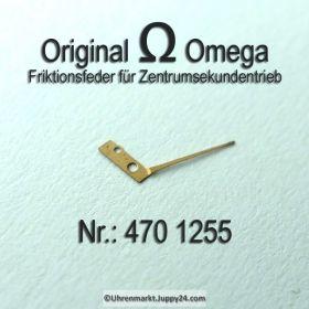 Omega 470-1255 Friktionsfeder für Zentrumsekundentrieb Omega 470 1255 Cal. 470 471 500 501 502 503 504 505