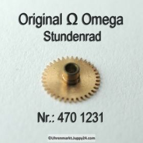 Omega Stundenrad 470-1231 Höhe 1,61 mm Omega 470 1231 Cal. 470 471 490 491 500 501 505