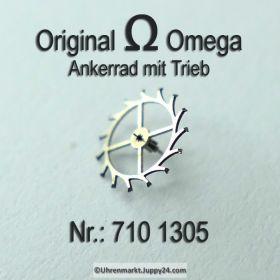 Omega 710-1305, Ankerrad mit Trieb, Omega 710 1305 Cal. 710 711 712