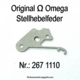 Omega Stellhebelfeder Omega 267-1110 Cal. 267 268 269 284 285 286