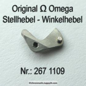 Omega Stellhebel - Omega Winkelhebel Omega 267-1109 Cal. 267 268 269 284 285 286