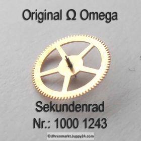 Omega Sekundenrad 1000-1243 Omega 1000 1243 Cal. 1000 1001 1002