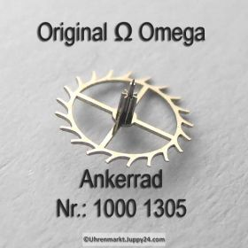 Omega 1000-1305, Ankerrad mit Trieb, Omega 1000 1305 Cal. 1000 1001 1002
