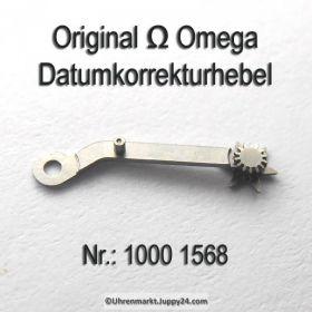 Omega Datumkorrekturhebel, Korrekturhebel Part Nr. Omega 1000-1568 Cal. 1000 1001 1002