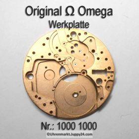 Omega Werkplatte 1000-1000 Omega Werkplatine Cal. 1000 1001 1002