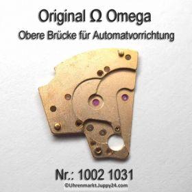 Omega obere Brücke für Automatvorrichtung Omega 1002-1031 Cal. 1002