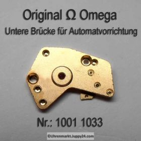 Omega Untere Brücke für Automatvorrichtung Omega 1001-1033 Cal. 1001 1002