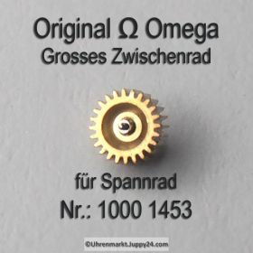 Omega 1000-1453, Omega Grosses Zwischenrad für Spannrad 1000 1453 Cal. 1000 1001 1002