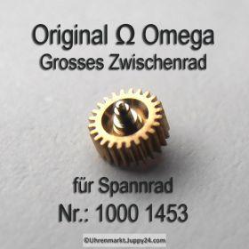 Omega 1000-1453, Omega Grosses Zwischenrad für Sperrad 1000 1453 Cal. 1000 1001 1002