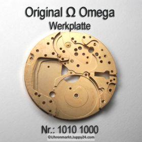 Omega Werkplatte 1010-1000 Omega Werkplatine Cal. 1010 1011 1012 1020 1021 1022 1030 1035