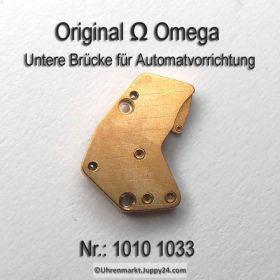 Omega Untere Brücke für Automatvorrichtung Part Nr. Omega 1010-1033 Cal. 1010 1020