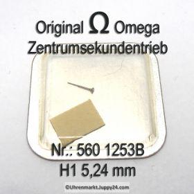 Omega Zentrumsekundentrieb 560 1253b Part Nr. Omega 560-1253b Cal. 560 561 562 563 564 565