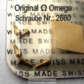 Omega Schraube 2660 Part Nr. Omega 2660
