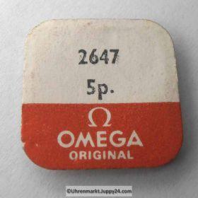 Omega Schraube 2647 Part Nr. Omega 2647