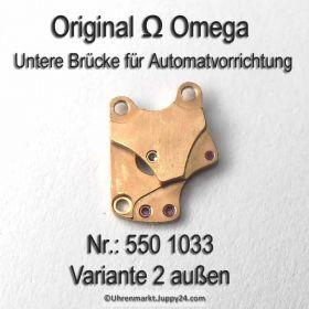 Omega Untere Brücke für Automatvorrichtung Omega 550-1033 Cal. 550 560 563 750