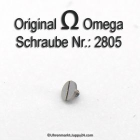 Omega 2805 Schraube für Sperrklinkenfeder, Part Nr.:  2805 Omega