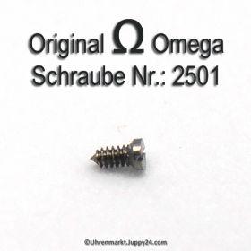 Zifferblattschraube 2501 Omega Schraube 2501 Part Nr. Omega 2501  Cal. 330 332 333 340 342 344 350 351 353 354