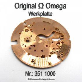 Omega Werkplatte für Hammerautomatik, Omega 351 1000 für Cal. 351 352 354