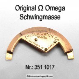 Omega Schwingmasse Omega 351-1017 für Hammerautomatik Cal. 351 353 354 355
