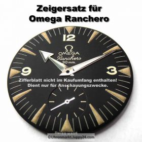 Zeigersatz passend für Omega Ranchero 2990-1, Kal. 267 aus Uhrmachernachlaß