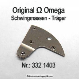 Omega 332-1403 Omega Schwingmassenträger montiert Omega 332 1403, Cal. 332 333 342 343 344 351 352 353 354 355