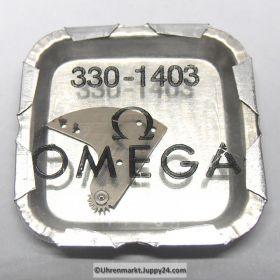 Omega 330-1403, Omega Schwingmassenträger montiert, Omega 330 1403, Cal. 330 331 340 341 350