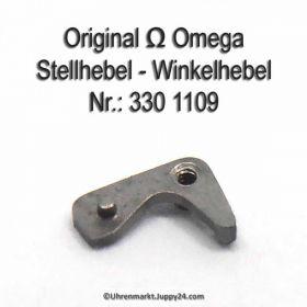 Omega Stellhebel Omega 330-1109 Omega Winkelhebel Cal. 330 331 332 333 340 341 342 343 344 350 351 352 353 354 355