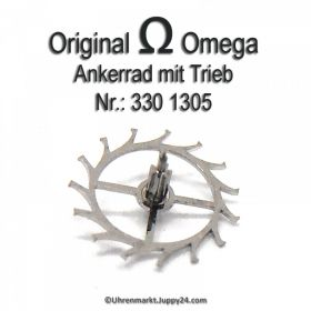 Omega 330-1305 Ankerrad mit Trieb Omega 330 1305 für Hammerautomatik Cal. 330 331 332 333 340 341 342 343 344 350 351 352 353 354 355