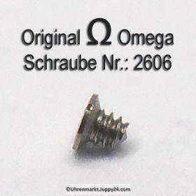 Omega 2606 Schraube für Stellhebelfeder 2606