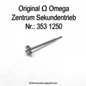 Omega Zentrumsekundentrieb 353-1250 für Hammerautomatik Omega 353 1250 Cal. 353 355